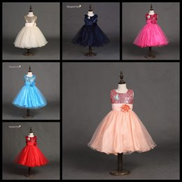 Children Tutu Formal Canada - Wholesale children boutiques dresses 10 colors baby girls christmas halloween party prom dress girl princess tutu skirts kids ball gown