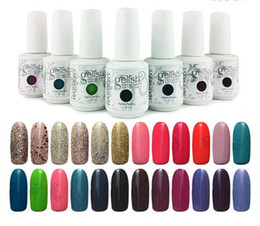 Discount gelish gel nail polish colors - WHOLESALE New arrival upgraded 243 colors Harmony gelish SOAK-OFF GEL POLISH Nail Gel 1200 pcs lot