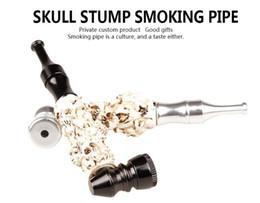 $enCountryForm.capitalKeyWord Canada - Authors wholesale luminous bones can shape metal pipe smoking hot, wholesale glass bong, glass hookah accessories, color random delivery, fr
