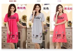 Maternity breastfeeding Dresses Pregnant Sleep & Lounge clothes Bear Pattern Nursing Clothes topical cotton sleepwear nightgown
