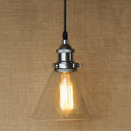 discount clear glass pendant light edison bulb hanging clear glass shade pendant lamp with edison light - Clear Glass Pendant Light