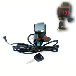 $enCountryForm.capitalKeyWord NZ - Electric Bike Controller Key Lock Switch Display Battery Voltage Number Electric Scooter Battery Indicator And Thumb Accelerator
