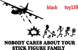 $enCountryForm.capitalKeyWord Canada - Nobody Cares about your Stick Figure Family Tank car truck taptop wall window Decal Sticker  black