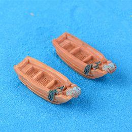 $enCountryForm.capitalKeyWord Canada - Cute mini boats 1.5*4cm fairy garden miniatures gnomes moss terrarium artificial home decoration for home decor DIY Zakka