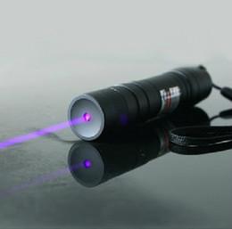 Ingrosso NUOVO forte potere, 5000m 532nm puntatori laser verde rosso blu viola ad alta potenza possono potente Lazer Beam militare torcia regalo di caccia