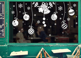 $enCountryForm.capitalKeyWord NZ - 5pcs Merry Christmas Bell Snowflake Sticker White Snow Wall Easy Decal Window Decor Decorations Xmas new