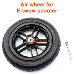 "8 Inch Inflated Wheel For E-twow S2 Scooter M6 Pneumatic Wheel With Inner Tube 8"" Scooter Wheelchair Air Wheel Can Loading 100Kg"