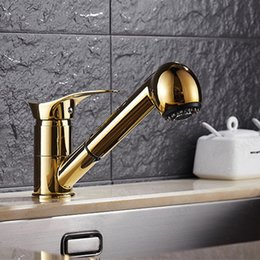 Free Shipping Long Mouth Solid Brass Kitchen Sink Faucet With Single Handle Kitchen  Faucet And Bathroom Basin Sink Water Faucets