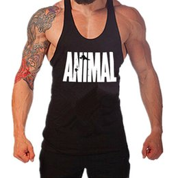 Barato Boa Qualidade Tanque Tops-Atacado- Tank Tops Homens Casual Wear Absorb Sweat Undershirt Sem mangas Tops Muscle Strengthen Vestuário Stringer Singlets Boa qualidade