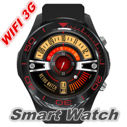 Smartwatch Gps Wifi Camera NZ - Smart Watch S1 Android smartwatch heart rate monitor wearable device Camera Support 3G Wifi GPS RAM 512MB+ROM 4GB for business