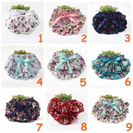$enCountryForm.capitalKeyWord NZ - 9colors Toddle Girls Ruffled Bloomers Layers Cherry Flower Pattern Summer Baby Flowers Print Diaper Cover Newborn Shorts Panties