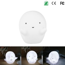 $enCountryForm.capitalKeyWord NZ - Mini White Ghost Led Night Light Baby Toys Led Lamps For Kids Children Christmas Birthday Gift Home Bedroom Decoration