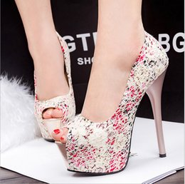 $enCountryForm.capitalKeyWord Canada - Women Fashion Thin Heels Peep Toe Shoes Women Platform High Heels Floral Lace Pumps High-heeled Shoes Wedding Shoes Bride Dress Shoes