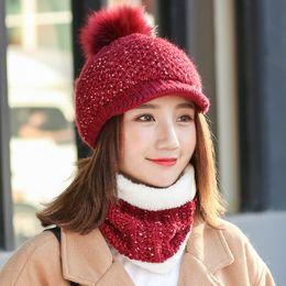 $enCountryForm.capitalKeyWord NZ - Winter bras hat cap neck cold knitted wool hat female outdoor cycling wind hood cap cap