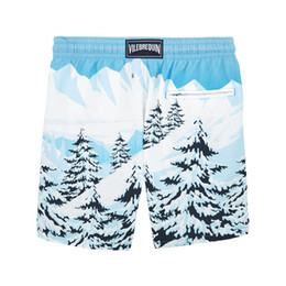 d2c182fa4e Fashion Summer Sexy Beach Men's Shorts Leisure Lining Liner Men Board  Shorts Patchwork Fast Dry Elastic Waist Short