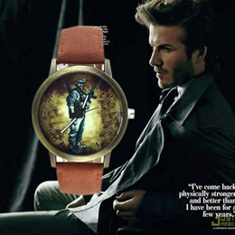 $enCountryForm.capitalKeyWord Canada - British Style Luxury Watches for Man Denim Belt Casual Retro People Round Dial Quartz Analog Watch Fashion Dress Watch for Man