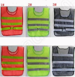 $enCountryForm.capitalKeyWord Canada - New Safety Clothing Reflective Vest Hollow Grid Vest High Visibility Roadway Warning Safety Working Construction Traffic Vest