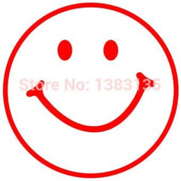 $enCountryForm.capitalKeyWord Australia - Wholesale 20pcs lot Home Decorations Automobile and Motorcycle Vinyl Decal Car Glass window Stickers Jdm Smiley Face Silhouette