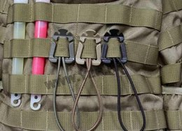 $enCountryForm.capitalKeyWord Canada - E-12 EDC Gear EDC Tool ITW Webdom Web Dominator Molle Backpack Carabiner, EDC Tool, Elastic Rope Webbing Buckle Winder outdoor products
