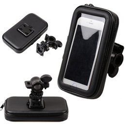 Chinese  Waterproof Pouch with Bike Phone Holder Handlebar Mount Cell Phone Holder for Samsung GALAXY S7 Edge S6 for iphone 7 5.5 Inch manufacturers