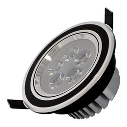 aluminum recessed ceiling lights Australia - led lights downlight spotlight 3W 5W 7W 9W 12W spot down light recessed ceiling down lights indoor lights AC85-265V CE ROHS FCC UL