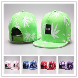 $enCountryForm.capitalKeyWord NZ - Cheap H U F Letter Snapback Hats Flat Brim Hats Flora Hiphop Cap Popular for Men and Women