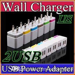 $enCountryForm.capitalKeyWord Canada - Metal Dual USB wall Charging Charger US EU Plug 2.1A AC Power Adapter Wall Charger Plug 2 port for Iphone Samsung Galaxy Note LG Tablet G-SC