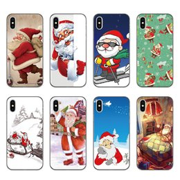 $enCountryForm.capitalKeyWord Canada - For apple iphone x iphone8 7 plus iphone 6S TPU box Creative Christmas series Merry Christmas gift soft shell cell phone cases protector