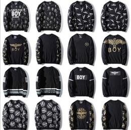 $enCountryForm.capitalKeyWord NZ - Plus size 3XL Popular London boy's skateboard Hoodies swearshirts BOY ROCK EAGLE HAWK Print pullover West coast kenya Bieber MEN Crewnecks