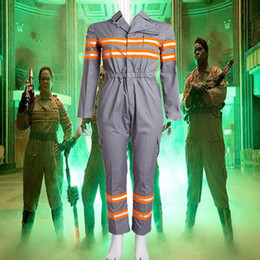$enCountryForm.capitalKeyWord Canada - 2016 Exclusive Version Movie COS Unisex Adult Ghost Busters Peter Dana Cosplay Costume Jumpsuits Unifrom Any Size Handmade