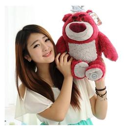 Strawberry pluSh toyS online shopping - Stuffed Animals Original Lotso Strawberry Bear Cute Soft Stuffed Animals Plush Toy Doll Gift Plush Toys