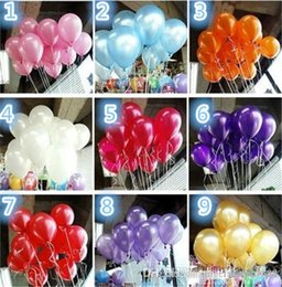 Wholesale Balloon Wedding Decorations Tulle Cake Toppers Backdrops For Weddings Balloons Quality Party Birthday Wedding Helium Air Colors Decoration