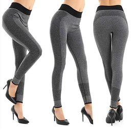 nice yoga pants 2020 - Fashion leggings tights women Sportwear Nice Leggings High Elastic Thin Sports Yoga Pants Fitness Running Long Trousers