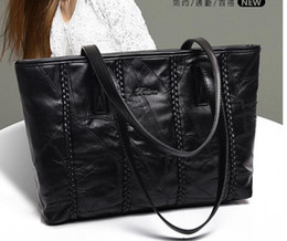 $enCountryForm.capitalKeyWord Canada - 2017 new sheepskin leather tote handbag simple large shoulder bag handbag in Europe