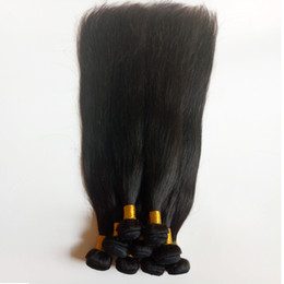 $enCountryForm.capitalKeyWord NZ - Unprocessed Brazilian virgin Human staright Hair Weave Factory Direct Sale Malaysian Indian remy hair extensions Wholesale in stock DHgate