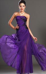 Discount Purple Prom Dress Size 18 | 2017 Purple Prom Dress Size ...
