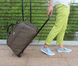 2017 Su Geçirmez Bagaj Çantası Kalın Stil Haddeleme Bavul Arabası Bagaj KadınlarErkekler Seyahat Çantaları Bavul Tekerlekler 003