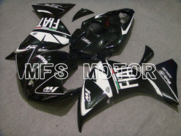 R1 12 Canada - Hot Fairing Fit for 09-12 2009-2012 2010 2011 Yamaha YZF-R1 2007 2008 ABS Plastic Set Injection Bodywork Kit