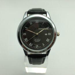 $enCountryForm.capitalKeyWord Australia - High-end atmospheric men's watch, stylish student couple quartz watch, belt calendar waterproof sports gift table