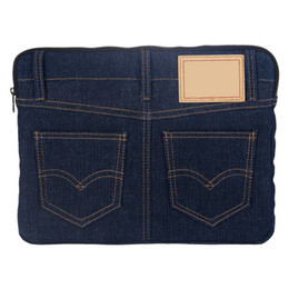 cosmetic bags for sale Australia - Fashion Style Denim Women Handbags Portable Cosmetic Bags for Pad Designer Famous Brand Women Handbag Hot Sales Navy Color Collection