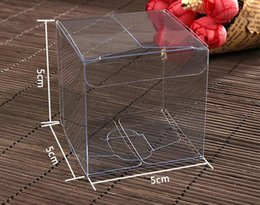 $enCountryForm.capitalKeyWord Canada - 100PCS 5*5*5cm Transparent waterproof Clear PVC boxes Packaging small plastic box storage event∂y supplies
