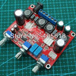Assembled Amplifier Boards Canada - Assembled HI-FI TPA3123 Amplifier AMP Board 2.1 Channel 25WX2 + 50W Subwoofer Amplifier Cheap Amplifier