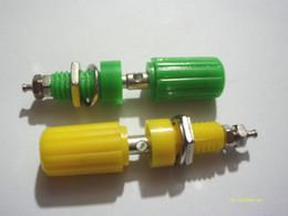 Connectors 4mm Australia - 100 PCS Binding Post FOR Speaker 4mm Banana Plug Test probe Connector