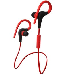 Discount bluetooth stereo headphones cell phone - Hot sell BT-1 Earphone Bluetooth Sport Ear Earbuds Stereo Over-Ear Wireless Neckband Headset Headphone with Mic for Univ