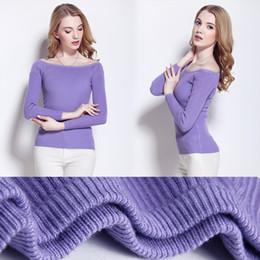 $enCountryForm.capitalKeyWord NZ - Autumn And Winter New Pattern Maoshanyi Word Lead Self-cultivation Rendering Garment Long Sleeve Knitting Unlined Upper