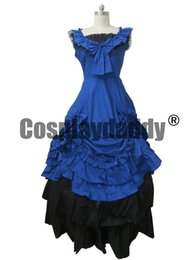 cosplay costume lolita gown UK - Southern Belle Lolita Ball Gown Wedding Cosplay Dress