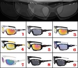 Hot pilot glasses online shopping - Hot Sale Brand sunglasses Designer Sun Glass double lenses sport cycling sunglasses dazzle colour mirrors glasses frame sunglasses