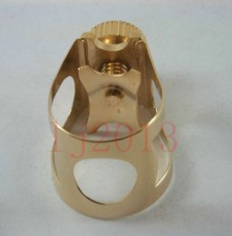 Discount ligature alto sax 1PCS Sax parts :Perfect beautiful Alto saxophone Ligature