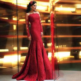 Red Vintage Mermaid Dress