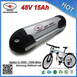 water bottle battery bicycle UK - Deep Cycle Water Bottle Electric Bicycle Battery 48V 15Ah with Water Bottle case 15A BMS 18650 cell and Charger FREE SHIPPING